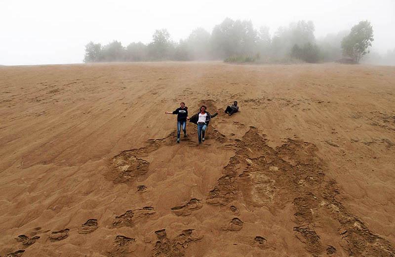 dunes tadoussac