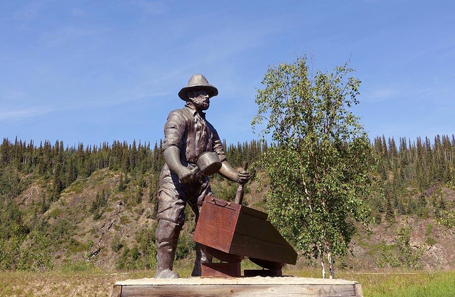 statue d'un mineur