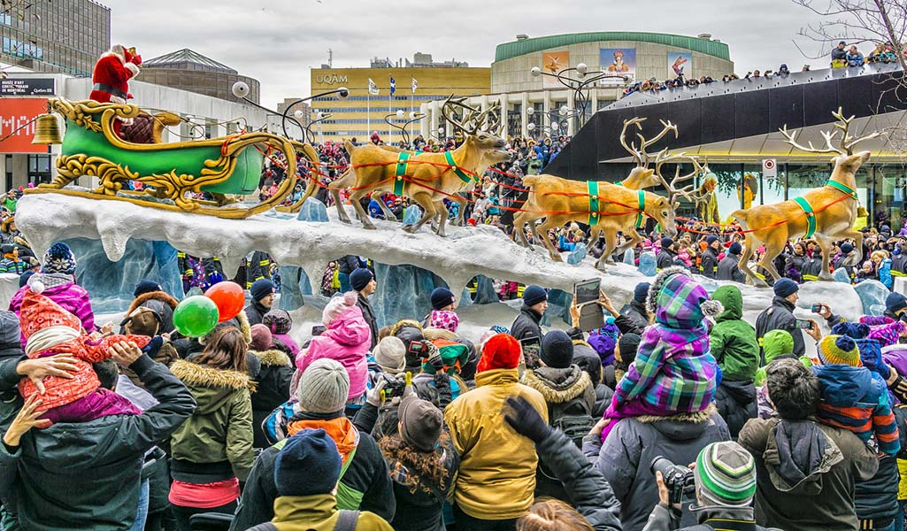 parade pere noel montreal