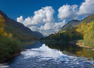 riviere parc national jacques cartier