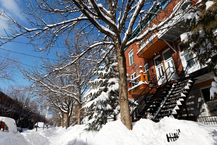 Ville de Montréal : Condo hiver