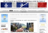 De la France au Québec, un nouveau livre en famille