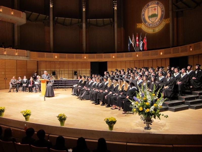Etudier au Canada : Remise de diplome