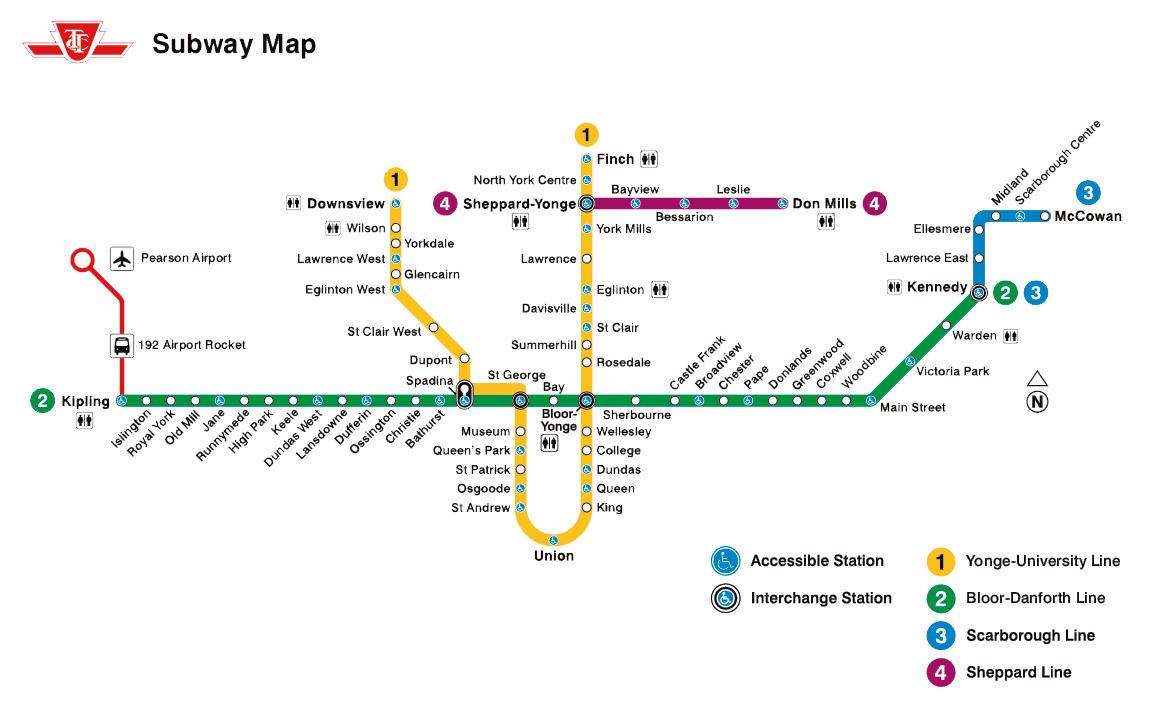 Tout savoir sur les transports en commun à Toronto