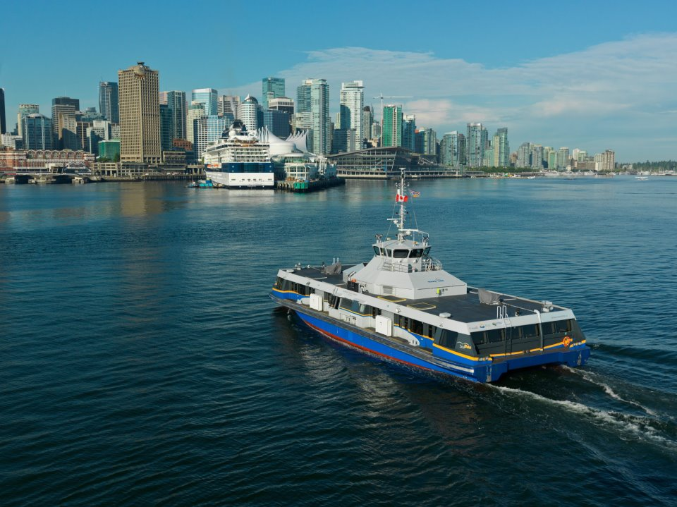 Transports à Vancouver : seabus