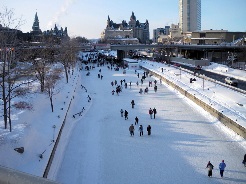 top 6 des endroits o passer les f tes de no l au canada. Black Bedroom Furniture Sets. Home Design Ideas
