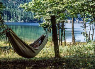 Été canadien : lac cameron quebec