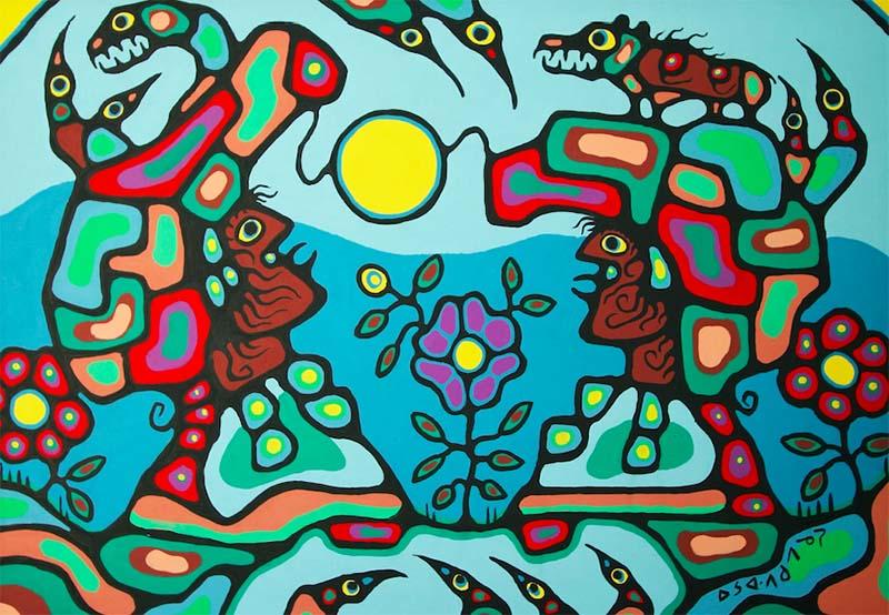 art des Premières Nations : norval morrisseau