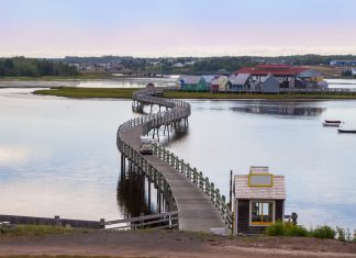 Acadie du Nouveau-Brunswick :pays de la sagouine bouctouche